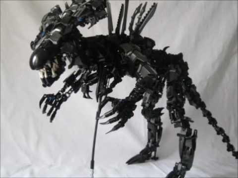 Bionicle Moc Aliens Queen Youtube