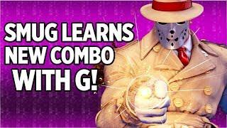 SMUG Learns New Combo With G! SFV!