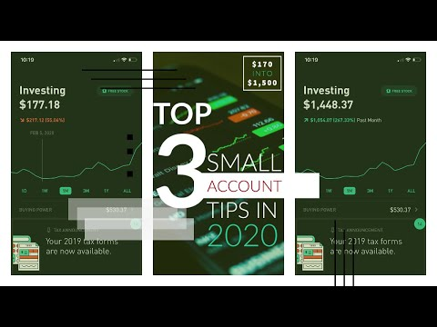How To Trade A Small Robinhood Account In 2020 – Stock & Options Trading For Beginners