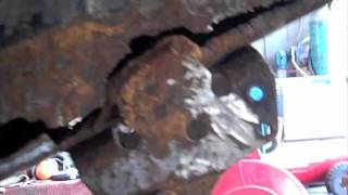 Broken Leaf Spring Bracket/Truck Frame Repair