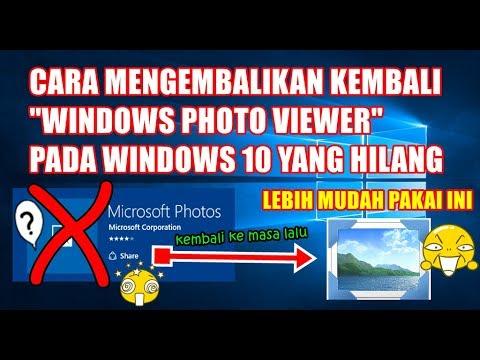 WORK 1000% Cara Mengatasi Windows 10 Photo App didn't Start jika anda pengguna windows 10, dan menga.