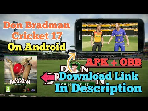 don bradman cricket 17 game apk download for android