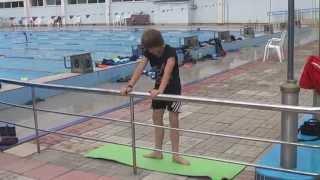 "видео: Учебное 2009 ""Растяжка и атлетизм брассиста."""