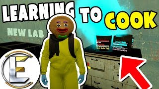 Learning To Cook - GMOD DarkRP (Making A Big Laboratory Under The City)