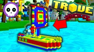 SS CUBE BOAT (super expensive)!! ⛵🚧 Trove Weekly Chaos Chest Loot (PC/PS4/XBox One)
