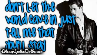 Nick Jonas & The Administration - Stay (Lyrics On Screen) HD