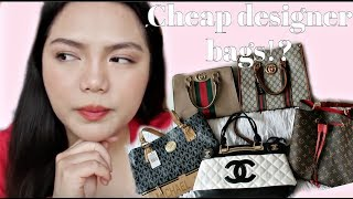 DUPE DESIGNER BAGS FOR CHEAP FROM DHGATE |Channel, Gucci, louis vuitton and michael kors