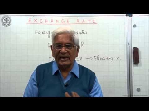 Exchange Rate Class XII Economics by S K Agarwala