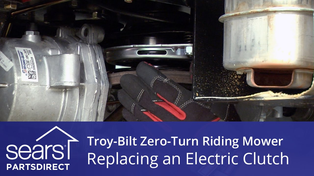 How To Replace A Troy Bilt Zero Turn Riding Mower Electric