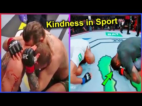 Acts of Kindness 😭😢🥺 | Most beautiful moments of respect in sports 💪