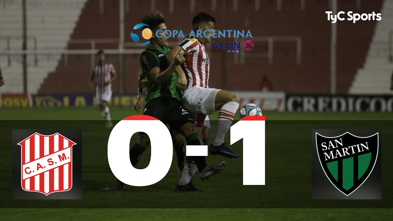 San Martín (T) 0-1 San Martín (SJ) | Copa Argentina