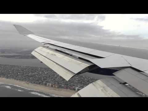 ✈ British Airways Boeing 747 Landing New York JFK Airport // LHR-JFK