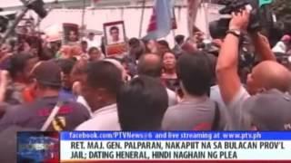 News@6: Jovito Palparan, nakapiit na sa Bulacan Provincial Jail || Aug. 18, 2014