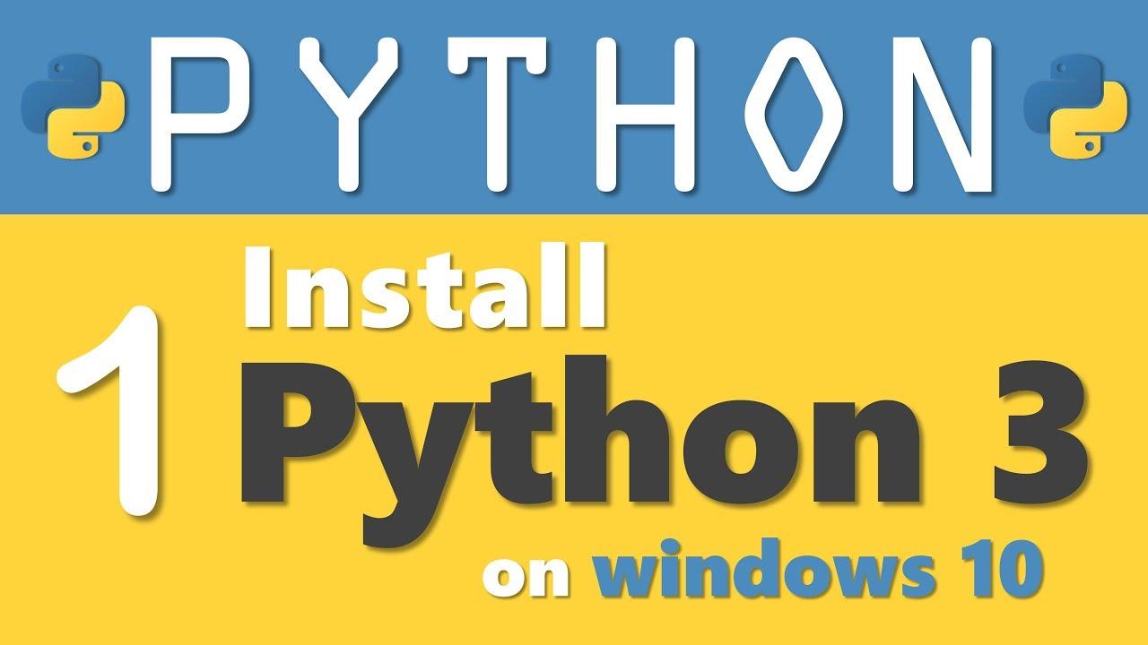 How To Install Python 3 On Windows 10 in 2019 | RebellionRider