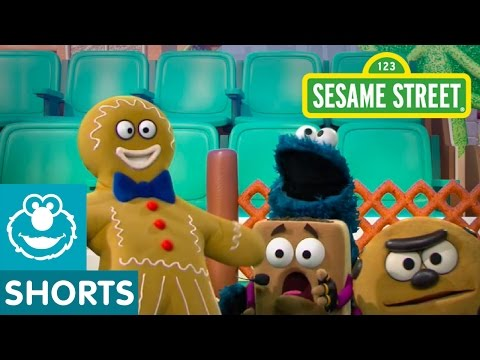 Sesame Street: The Gingerbread Man (The Smart Cookies)
