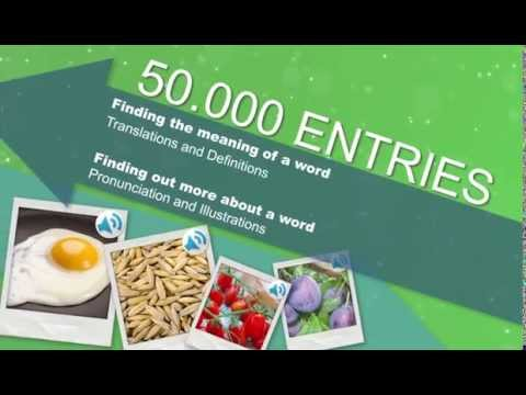 EXPO Dictionary of Food and Nutrition in 9 languages