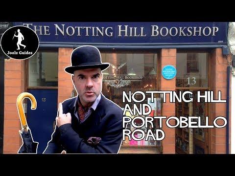 Notting Hill and Portobello Road Market Walking Tour