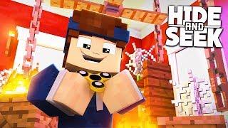 VERSTECKT IM TEUERSTEN FIDGET SPINNER! | Minecraft Hide and Seek