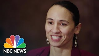 Congresswoman-Elect Sharice Davids Talks Politics, Authenticity | NBC News
