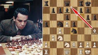 Kasparov Sacrifices his Queen on move 12!