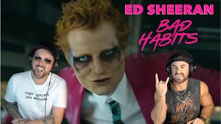 "Ed Sheeran ""Bad Habits"" | Aussie Metal Heads Reaction"