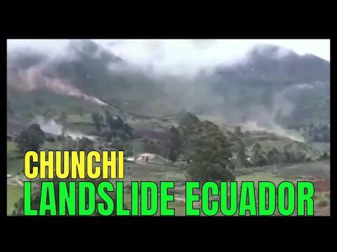 LANDSLIDE Chunchi, Ecuador / February 13, 2021