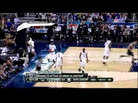 NCAA Finals Uconn VS Butler Game Recap 04/04/2011 (U Conn Won)
