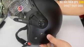 GRS A368K - Mũ bảo hiểm GRS chính hãng rẻ nhất Hà Nội