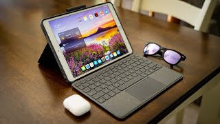 "Logitech Combo Touch: A ""Magic Keyboard"" Accessory for iPad Air!"