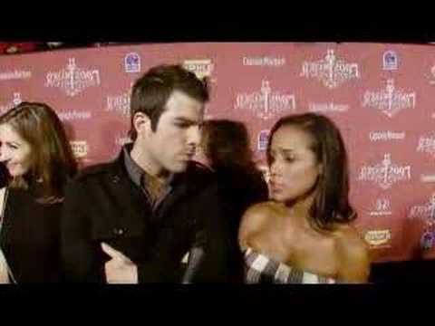 Zachary Quinto and Dania Ramirez Scream Awards Interview