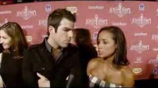 Zachary Quinto and Dania Ramirez Scream Awards Interview