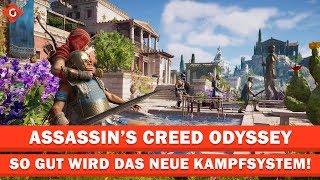 So gut wird das neue Kampfsystem in Assassin's Creed Odyssey   EXKLUSIV