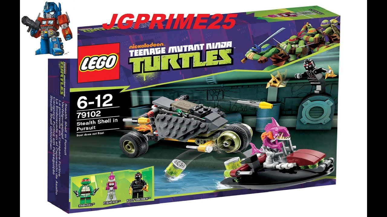Lego tartarugas ninja 79102 persegui o eletrizante for Lago tartarughe