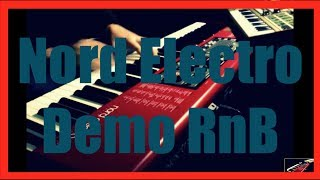 Christian Samosny - RnB Soul Keyboard - Nord Electro 3 HP Micro Korg