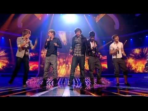 One Direction sing Viva La Vida  The X Factor  Full Version