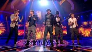 vuclip One Direction sing Viva La Vida - The X Factor Live (Full Version)