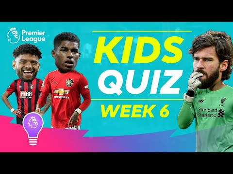 Premier League Kids Quiz | Episode 6