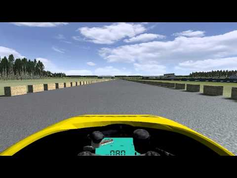 (rFactor1) Airport Raceway - Drop In Drag Strip On Board
