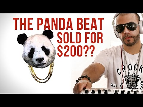 The beat for Panda only sold for $200?  Producers: Watch this!