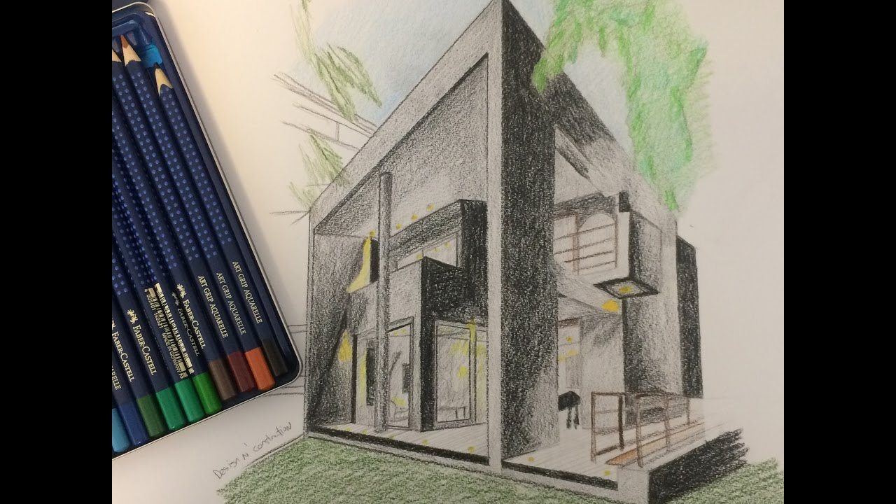 Exterior Design Art exterior design of a house and rendering techniques - youtube
