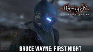 MESH; Batman; Arkham Knight; Bruce Wayne First Night