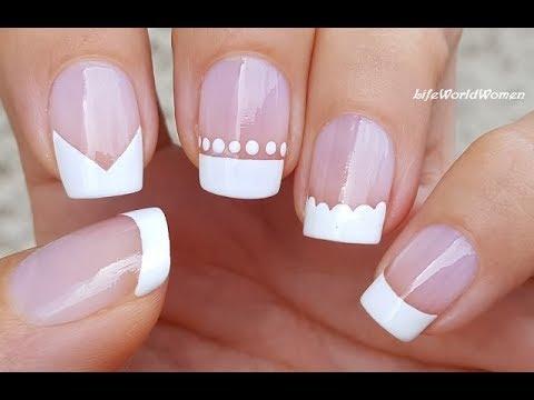 White Tip Nail Design Ideas Sinevt