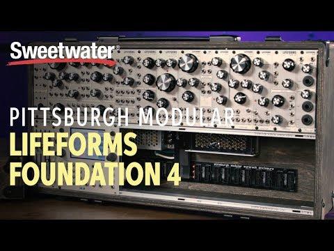 Pittsburgh Modular Lifeforms Foundation 4 Modular Synthesizer Demo