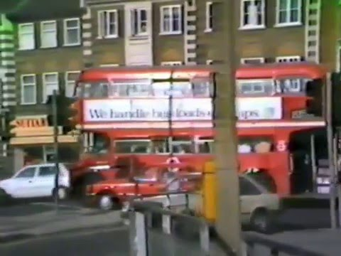 STAMFORD HILL ROUTEMASTERS, 1986