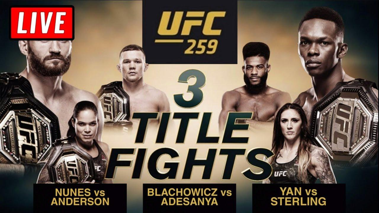 UFC 259 live updates and results -- Dominick Cruz, Islam ...