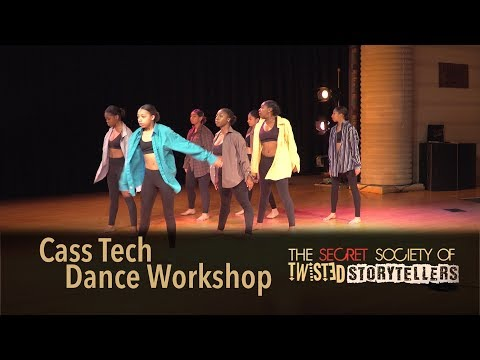 The Secret Society Of Twisted Storytellers - HOT MAMA PT. 2 - Cass Tech Dance Workshop