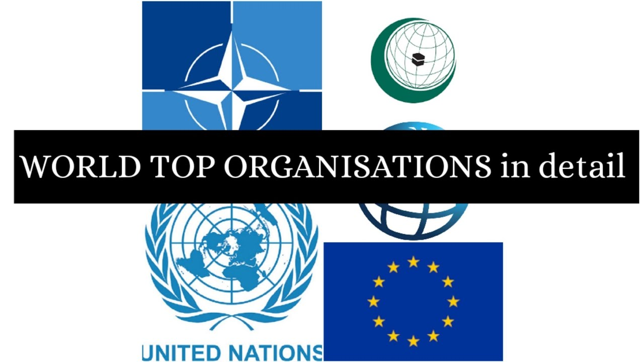 World top organisations history, foundation,members, UNO