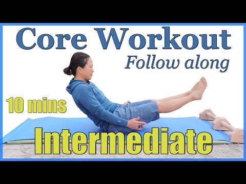 Core Workout for Climbers - Intermediate Core training for climbers follow along