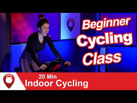 Beginner Spin Class | 20 Min Indoor Cycling | Fitscope Studio
