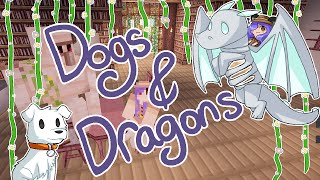 Minecraft | Dogs & Dragons: Botanica Magic Flowers! [6] | Mousie